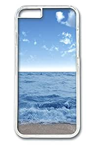iphone 6 4.7inch Case and Cover Stormy water PC case Cover for iphone 6 4.7inch transparent