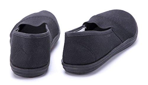 Schuhtempel24 Damen Schuhe Low Sneaker Flach Schwarz