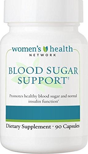 Blood Sugar Support by Women's Health Network - Natural Support for Healthy Blood Sugar Levels with Cinnamon, Chromium, Glucomannan, Banaba, COQ10, Vitamin B12 and more (1)