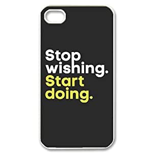 Custom New Cover Case for iPhone 6 plus 5.5, Stop Wishing,Star Doing Phone Case - HL- 6 plus 5.530116