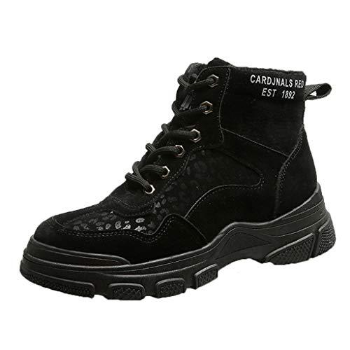 ANJUNIE Women Flat Plus Sneaker Velvet Winter Cotton Shoes High Top Warm Non-Slip Shoes