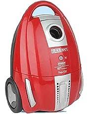 مكنسة كهربائية من بلاك اند وايت توب -132، 2000 وات، احمر