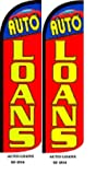Auto Loan King Windless Flag- Pack of 2