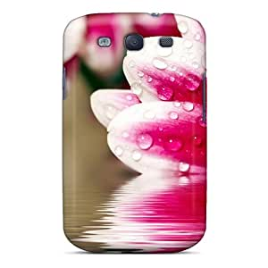 Sanp On Case Cover Protector For Galaxy S3 (pink Daisy Reflection)