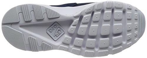 NIKE Herren Huarache Run Ultra Running Sneaker Midnight Navy / Obsidian-weiß
