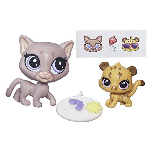 Littlest Pet Shop Pet Pawsabilities Sunny Cougar & Cubby