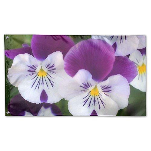 Ministoeb Garden Flag - Beautiful Flower Theme Art Decorativ