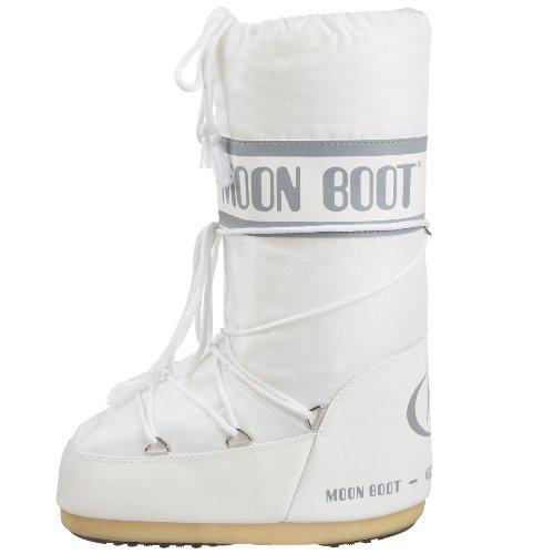 Tecnica Moon Boot Nylon, Botas de nieve Unisex adulto Blanco (White 6)