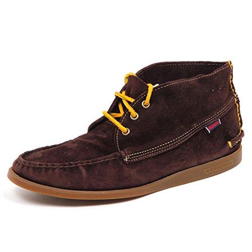 Marron Shoe Scarpa Campsides Sebago Box Vintage Suede Brown Uomo Without E0738 Man qnSpP
