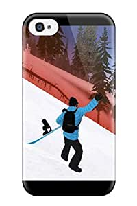 Awesome Design Shaun White Snowboarding Hard Case Cover For Iphone 4/4s