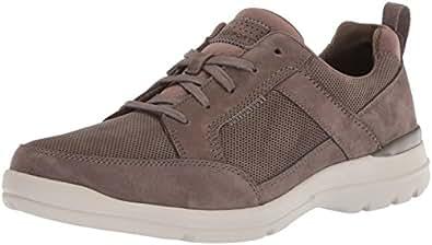 ROCKPORT Men's City Edge Lace Up Shoe, Breen Nubuck, 6.5 W US