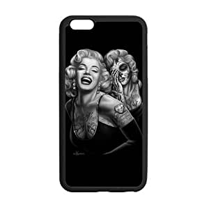 At-Baby Custom Marilyn Monroe Iphone Case Iphone 6 5.5 inch Case Cover (Laser Technology) by runtopwell