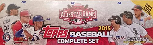 2019 Topps World Series - 2015 Topps MLB Baseball ALL Star Version Factory Sealed Set with 5 Exclusive All Star Bonus Cards