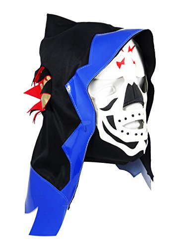 SKELETOR Adult Lucha Libre Wrestling Mask (pro-fit) Costume Wear - (Skeletor Mask)