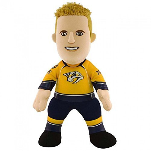 fan products of NHL Nashville PRedators Pekka Rinne Player Plush Doll, 6.5-Inch x 3.5-Inch x 10-Inch, yellow