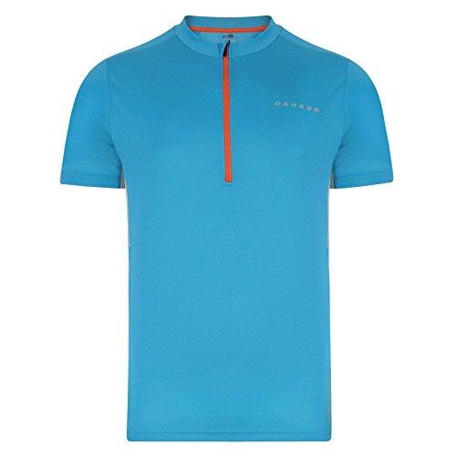 Dare 2b hombres del peligro II Formación T-Shirt Fluro Blue