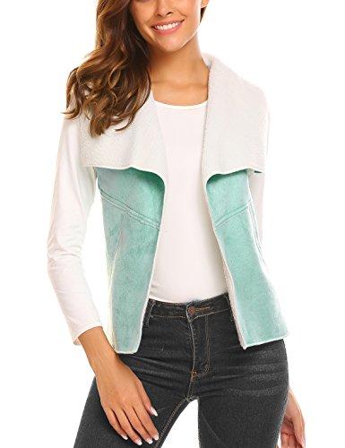 (Soteer Women's Lux Faux Sherpa Reversible Vest XXLarge )