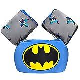 CONHENCI Swim Aid Vest Trainer Life Jacket Floaties for Toddlers(Batman)