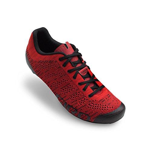 Scarpe Giro Empire E70 Knit - Rosso, Nero, 42