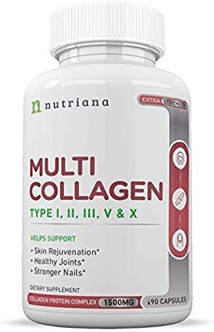 Multi Collagen Peptides Protein Pills product image