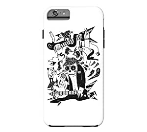 we are rock iPhone 6 Plus White Tough Phone Case - Design By Humans