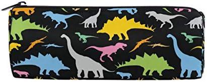 ZZKKO - Estuche con cremallera para lápices, diseño de dinosaurios, para niñas, niños, adolescentes y adultos: Amazon.es: Oficina y papelería