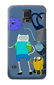 S0961 Adventure Time Fin Jeck Marciline Case Cover For Samsung Galaxy S5