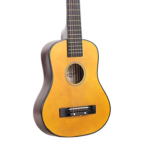 5666cd41df Strong Wind Beginner Acoustic Guitar,28 Inch Wooden Beginners Learning  Starter Mini Guitar Kit with