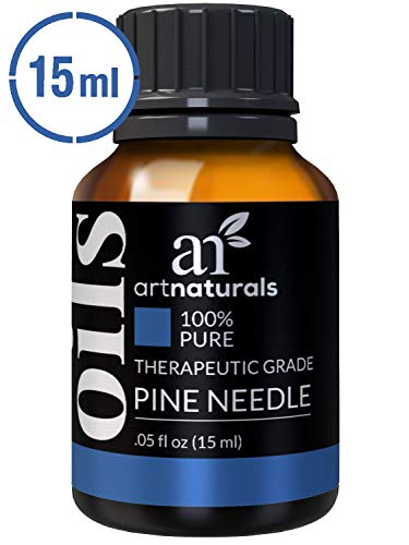 ArtNaturals 100% Pure Pine Needle Essential Oil - (.5 Fl Oz / 15ml) - Undilued Therapeutic Grade - Cleanse Purify and Breathe - Holiday Fir Christmas Tree Scent for Aromatherapy Diffuser (Fir Needle Essential Oil Blends Well With)