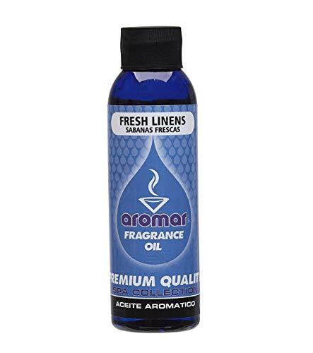 Fragrance Oil 4 oz. Fresh Linens Aromatherapy Essential Oil Scented Oil Scent Oil