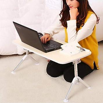 GWM Escritorio Multifuncional para computadora portátil para Hacer una Mesa con Cama, Dormitorio para Estudiantes