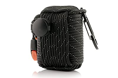 FourSurvival Survival Grenade - Military Grade Paracord and Tools For Hiking, Camping, and Emergencies - Portable, Durable Disaster Preparedness Kit with 20 Lifesaving Tools - Be Prepared For Anything from Wabi Sabi Innovations