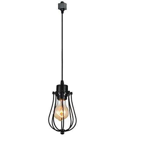 KIVEN 1 Light H Type 3 Wire Track Light Pendants Length 3.3 Feet Restaurant