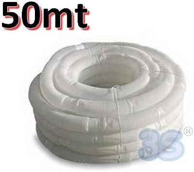 Rollo de 50 m de tubo flexible de polipropileno de 80 mm de diámetro SMARTFLEX para condensación de humos: Amazon.es: Bricolaje y herramientas