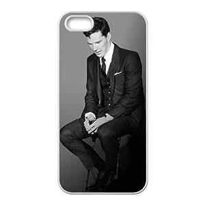 Benedict Cumberbatch iPhone5s Cell Phone Case White 218y-743306
