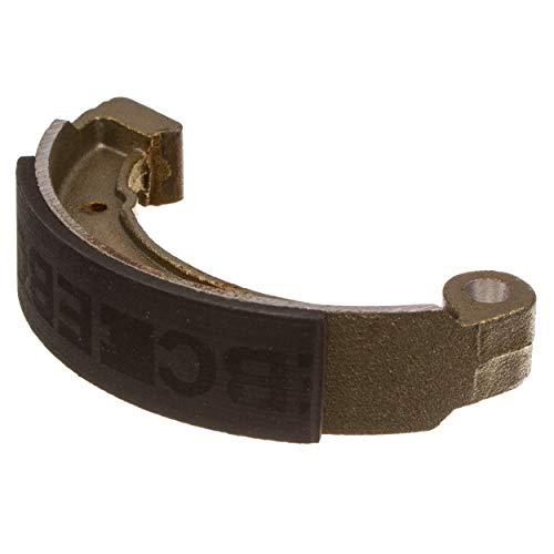 SET EBC Blackstuff Bremsbacken Simson /ø 124 mm mit Bremsbackenfeder und Sicherungsscheiben