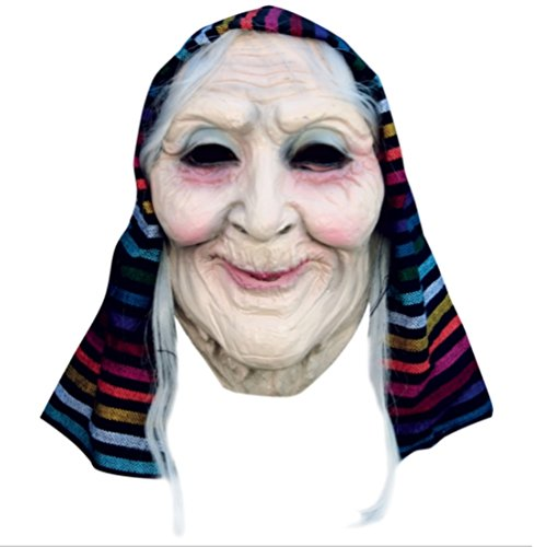 Old Lady Mask (Lady Costume Mask)