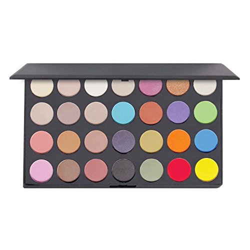 28 Colors Multi Color Eyeshadow Face Palette by Pree Cosmetics for sale
