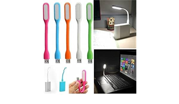 Luz LED portátil USB para ordenador portátil PC portátil Power Bank: Amazon.es: Iluminación