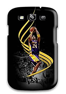 For Audunson Galaxy Protective Case, High Quality For Galaxy S3 Kobe Bryant Skin Case Cover