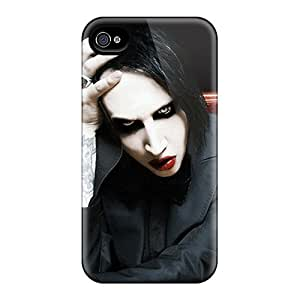 Durable Hard Phone Case For Iphone 6 With Provide Private Custom Vivid Marilyn Manson Pictures JamieBratt