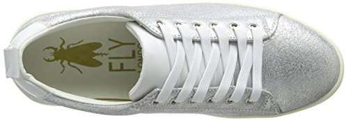 FLY London Silver Womens Maco833fly Womens Maco833fly Metallic Sneaker FLY FLY Metallic Sneaker Silver London London BEBpv0TW8