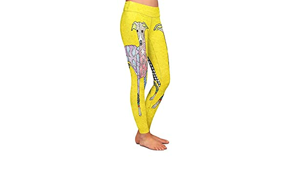 BillyGoat White Athletic Yoga Leggings from DiaNoche Designs by Marley Ungaro