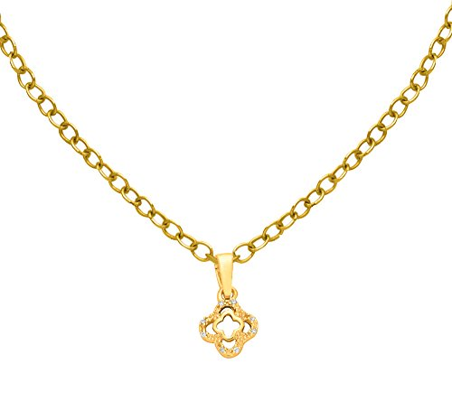 Or Jaune 14 ct Pendentifs Diamant , 0.02 Ct Diamant, GH-SI, 0.66 grammes.