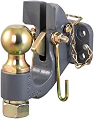 CURT 48410 SecureLatch 2-5/16-Inch Ball and Pintle Hitch Hook Combination, 20,000 Pounds, Mount Required