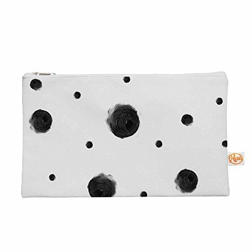Kess eigene 12,5x 21,6cm Chelsea Victoria Schwarz Dots Alles Tasche
