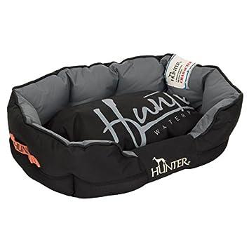 Hunter perro cama wangado Grimstad negro resistente casa Cazador Perro Cama Cojín con extraíble, extra