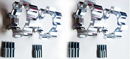 Spurverbreiterungen CF 450 Moto 35//45 mm Komplettset x4 vorne und hinten