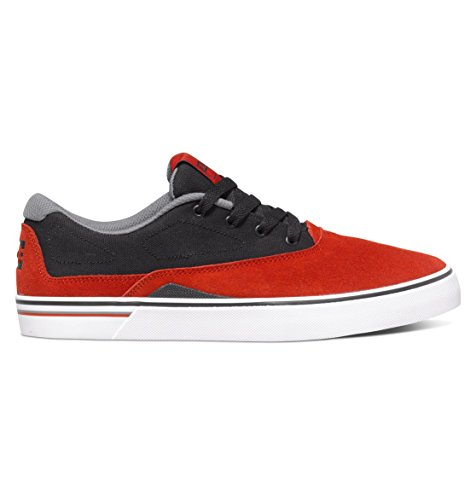 Herren Skateschuh DC Sultan S Skateschuhe rosso / nero