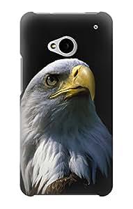 E2046 Bald Eagle Funda Carcasa Case para HTC ONE M7